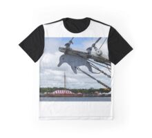 Dolphins and Vikings Graphic T-Shirt