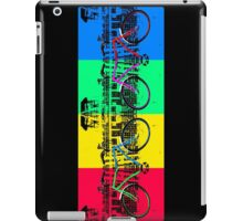 Coloured Bicycles iPad Case/Skin