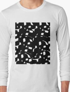 Simple black and white Long Sleeve T-Shirt