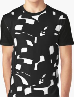 Simple black and white Graphic T-Shirt