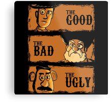 The Good The Bad the potato Metal Print