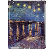 A Starry Night over the Rhone by Vincent van Gogh iPad Case/Skin