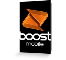 Boost Mobile Greeting Card