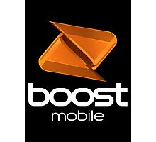 Boost Mobile Photographic Print