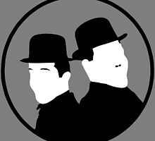 Laurel and Hardy by ProxishDesigns