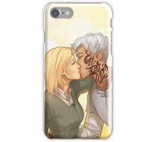 Rowaelin kiss iPhone Case/Skin