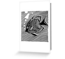 Bubble the Fish  Greeting Card