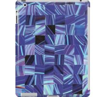 Crazy Blue iPad Case/Skin