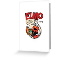 Elmo Vintage Greeting Card