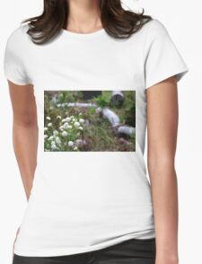 Pimelea in the Bush Womens Fitted T-Shirt
