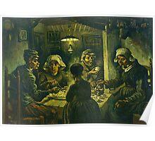 Vincent Van Gogh  Die Kartoffelesser Poster