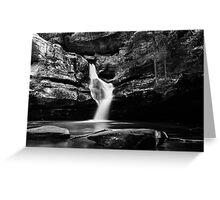 Cedar Falls - Hocking Hills Greeting Card
