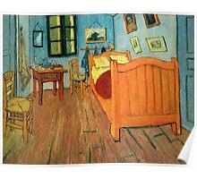 Vincent Van Gogh the Bedroom at Arles Poster