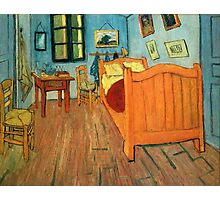 Vincent Van Gogh the Bedroom at Arles Photographic Print