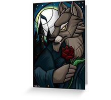 Stained Glass - Gilneas Greeting Card