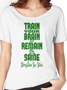 BJJ Brazilian Jiu Jitsu - Train your brain Women's Relaxed Fit T-Shirt