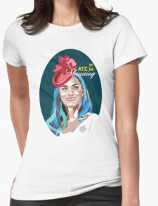 Kate Middleton the Princess Womens Fitted T-Shirt