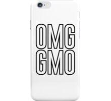 OMG GMO - Oh My God | Genetically Modified Organisms iPhone Case/Skin