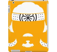 The master of Karate iPad Case/Skin