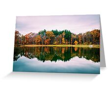 Colorful Lake Greeting Card