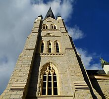 St. Andrews Cathedral, Little Rock, ark USA by WildestArt