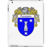 Portalatin Coat of Arms/Family Crest iPad Case/Skin