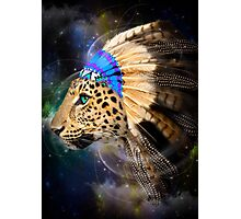 Fight For What You Love (Chief of Dreams: Amur Leopard) Photographic Print