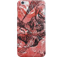 Spins a web any size iPhone Case/Skin