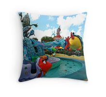 One Fish Two Fish Up Up Up! Throw Pillow