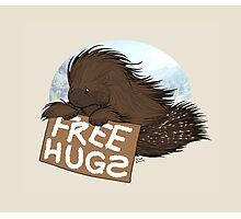Free Hugs Photographic Print