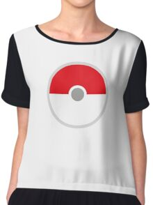 Pokeball x Pokemon Go Chiffon Top
