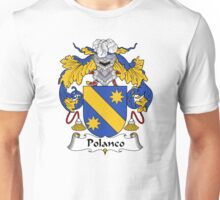Polanco Coat of Arms/Family Crest Unisex T-Shirt