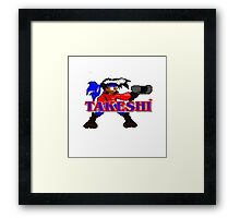 Kid Soldier-Takeshi Media Picture Framed Print