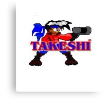 Kid Soldier-Takeshi Media Picture Canvas Print