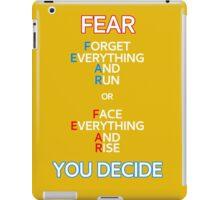 FEAR Things iPad Case/Skin