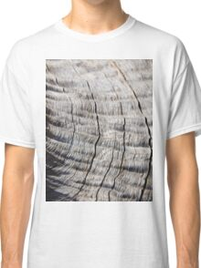 Leadwood - Textured Hardwood - Unique African Patterns Classic T-Shirt