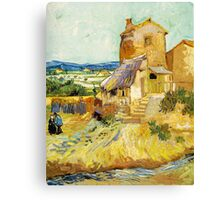 The Old Mill by Vincent Van Gogh Canvas Print