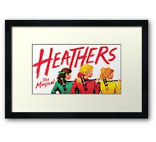 Heathers: The Musical Framed Print