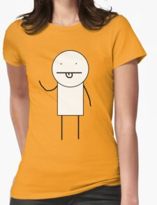KIDCOM character (basic edition) Womens Fitted T-Shirt