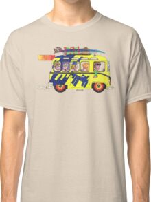 VW Camper. Surfs Up Dude. Classic T-Shirt