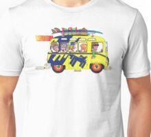 VW Camper. Surfs Up Dude. Unisex T-Shirt