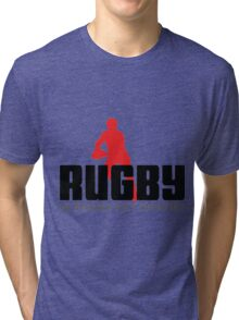 RUGBY - NO WINNERS ONLY SURVIVORS Tri-blend T-Shirt