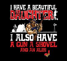 Hillbilly - I Have A Beautiful Daughter Black Distressed Variant Photographic Print