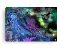Dimensional Rift Canvas Print