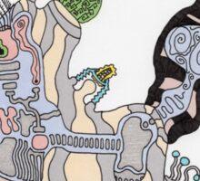 Kali Visits the Ocean Sticker