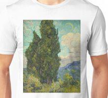 Trees by Vincent Van Gogh Unisex T-Shirt