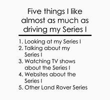 5 Things I Like - Series 1 Unisex T-Shirt