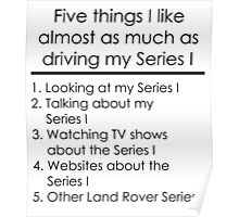5 Things I Like - Series 1 Poster