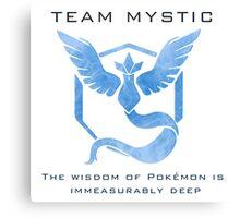 Pokémon Go! Team Mystic Canvas Print