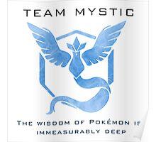 Pokémon Go! Team Mystic Poster